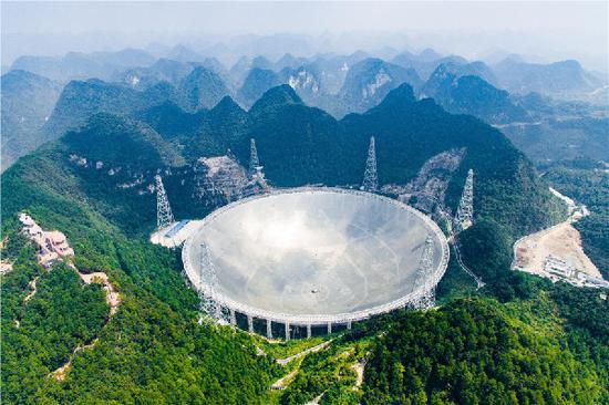 双语:中国天眼首次发现脉冲星
