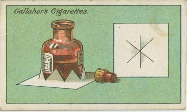 双语:100年前的生活妙招:如何让墨水瓶不倒?